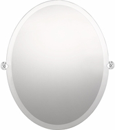 Quoizel QR3329 Reflections Polished Chrome Mirror