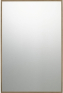 Quoizel QR3330 Reflections Antique Brass Wall Mirror
