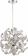 Quoizel RBN1512CRC Ribbons Crystal Chrome Xenon Drop Lighting