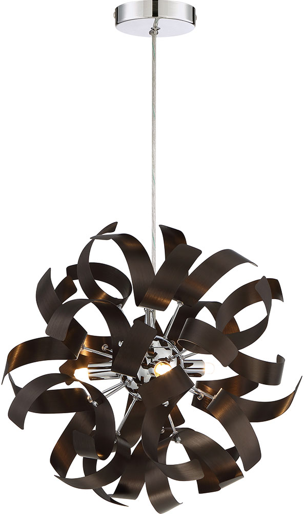 Quoizel rbn1512wt ribbons contemporary western bronze xenon drop quoizel rbn1512wt ribbons contemporary western bronze xenon drop ceiling light fixture loading zoom aloadofball Images
