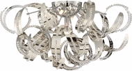 Quoizel RBN1622CRC Ribbons Crystal Chrome Xenon Home Ceiling Lighting
