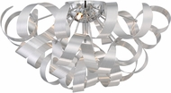 Quoizel RBN1622MN Ribbons Contemporary Millenia Xenon Overhead Light Fixture