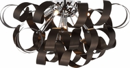 Quoizel RBN1622WT Ribbons Modern Western Bronze Xenon Ceiling Light
