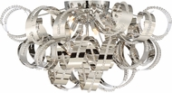 Quoizel RBN1628CRC Ribbons Crystal Chrome Xenon Ceiling Light Fixture