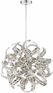 Quoizel RBN2817CRC Ribbons Crystal Chrome Xenon Drop Lighting Fixture