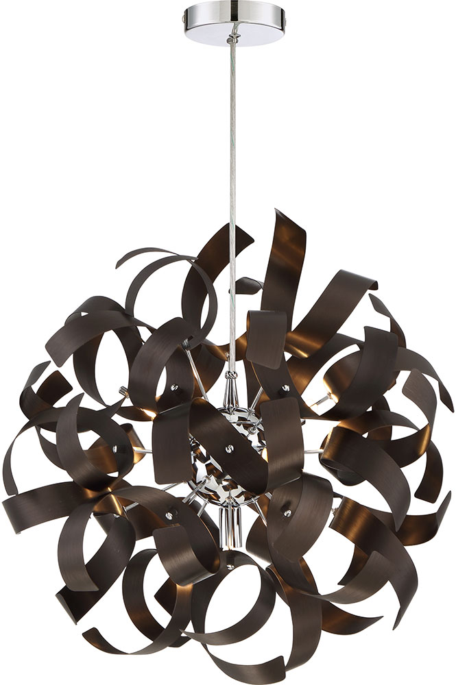 Quoizel rbn2817wt ribbons modern western bronze xenon pendant quoizel rbn2817wt ribbons modern western bronze xenon pendant light loading zoom mozeypictures Image collections