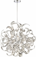 Quoizel RBN2823CRC Ribbons Crystal Chrome Xenon Lighting Pendant