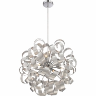 Quoizel RBN2823MN Ribbons Modern Millenia Finish 23  Wide Xenon Hanging Lamp