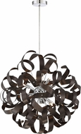 Quoizel RBN2823WT Ribbons Modern Western Bronze Xenon Hanging Lamp