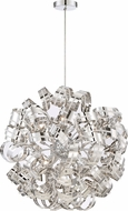 Quoizel RBN2831CRC Ribbons Crystal Chrome Xenon Hanging Light