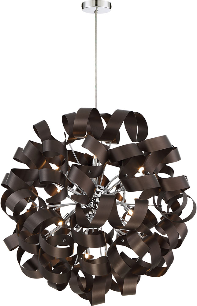 Western Pendant Lighting Quoizel rbn2831wt ribbons modern western bronze xenon pendant quoizel rbn2831wt ribbons modern western bronze xenon pendant lighting fixture loading zoom audiocablefo
