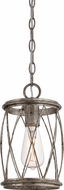 Quoizel RDY1506CS Dury Contemporary Century Silver Leaf Mini Pendant Lighting