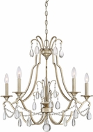Quoizel REG5005VG Regent Traditional Vintage Gold Chandelier Lighting