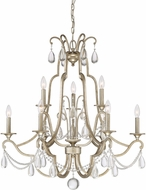 Quoizel REG5009VG Regent Traditional Vintage Gold Lighting Chandelier
