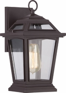Quoizel RGE8407WT Ridge Traditional Western Bronze Exterior Wall Sconce Lighting