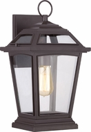 Quoizel RGE8409WTFL Ridge Traditional Western Bronze Fluorescent Outdoor Wall Lighting Sconce