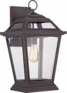 Quoizel RGE8411WT Ridge Traditional Western Bronze Exterior Wall Sconce Lighting