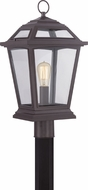 Quoizel RGE9011WTFL Ridge Traditional Western Bronze Fluorescent Outdoor Post Lighting