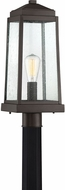 Quoizel RNL9008WT Ravenel Contemporary Western Bronze Outdoor Pole Lighting Fixture