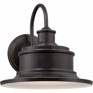 Quoizel SFD8409IB Seaford Retro Imperial Bronze Finish 9  Tall Exterior Wall Lighting Fixture