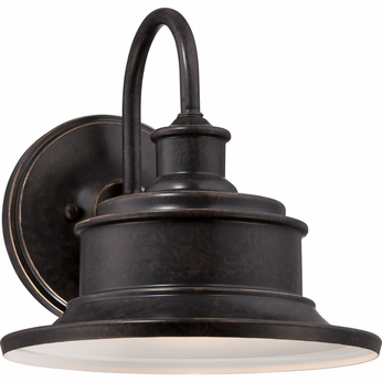 Quoizel SFD8411IB Seaford Retro Imperial Bronze Finish 11  Tall Exterior Wall Sconce Light