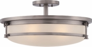 Quoizel SLR1720AN Sailor Contemporary Antique Nickel Ceiling Lighting