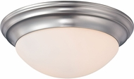 Quoizel SMT1614BN Summit Brushed Nickel 14  Ceiling Light