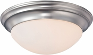 Quoizel SMT1617BN Summit Brushed Nickel 17  Ceiling Lighting Fixture