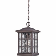 Quoizel SNN1909PN Stonington Traditional Palladian Bronze Finish 9.5  Wide Outdoor Pendant Lighting Fixture