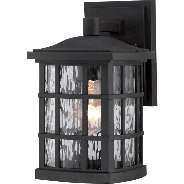 Quoizel snn8406k stonington traditional mystic black finish 65 quoizel snn8406k stonington traditional mystic black finish 65nbsp wide exterior wall sconce lighting loading zoom aloadofball Images