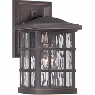 Quoizel SNN8406PN Stonington Traditional Palladian Bronze Finish 10.5  Tall Exterior Wall Lighting