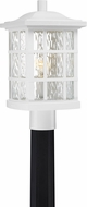 Quoizel SNN9009WFL Stonington Fresco Fluorescent Outdoor Pole Lighting Fixture