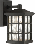 Quoizel SNNL8406K Stonington LED Mystic Black LED Exterior 6.5  Lamp Sconce