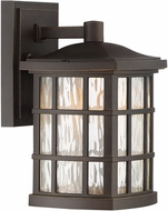 Quoizel SNNL8406PN Stonington LED Palladian Bronze LED Outdoor 6.5  Wall Sconce Lighting