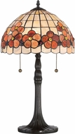 Quoizel SSCV6222VB Sea Shell Collection Captiva Tiffany Vintage Bronze Table Lamp Lighting