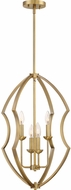 Quoizel STT5204WS Stately Modern Weathered Brass Entryway Light Fixture