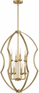 Quoizel STT5208WS Stately Contemporary Weathered Brass Foyer Lighting