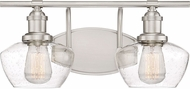 Quoizel STW8602BN Stillwater Modern Brushed Nickel 2-Light Bathroom Vanity Lighting