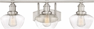 Quoizel STW8603BN Stillwater Contemporary Brushed Nickel 3-Light Bathroom Vanity Light