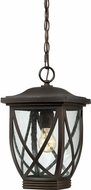 Quoizel TDR1909PN Tudor Palladian Bronze Outdoor Ceiling Light Pendant
