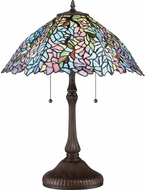 Quoizel TF2803TRS Tiffany Tiffany Russet Lighting Table Lamp