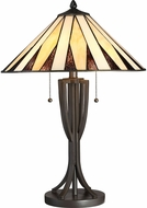 Quoizel TF2804TWT Tiffany Tiffany Western Bronze Table Lamp Lighting