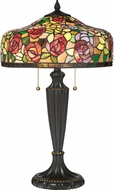Quoizel TF3179TPN Tiffany Palladian Bronze Table Lamp