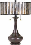 Quoizel TF3334TVA Tiffany Tiffany Valiant Bronze Table Lamp