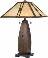 Quoizel TF3341T Tiffany Tiffany Table Lamp Lighting