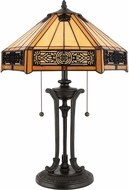 Quoizel TF6669VB Tiffany Tiffany Vintage Bronze Table Lamp