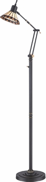 Quoizel TF9152ZLED Tiffany Medici Bronze LED Floor Lamp