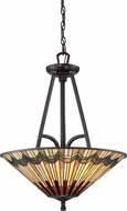 Quoizel TFAT2821VA Alcott Tiffany Valiant Bronze Pendant Lighting