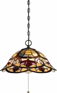 Quoizel TFGD1820VB Garland Tiffany Vintage Bronze Pendant Hanging Light