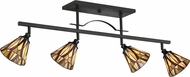 Quoizel TFVY1404VA Victory Tiffany Valiant Bronze Track Lighting Fixture
